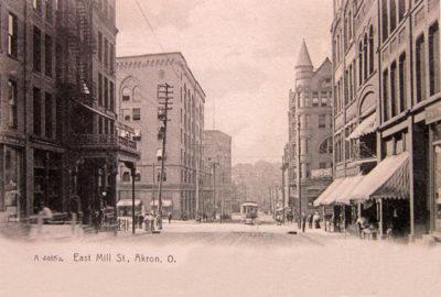 East Mill Street, Akron, Ohio