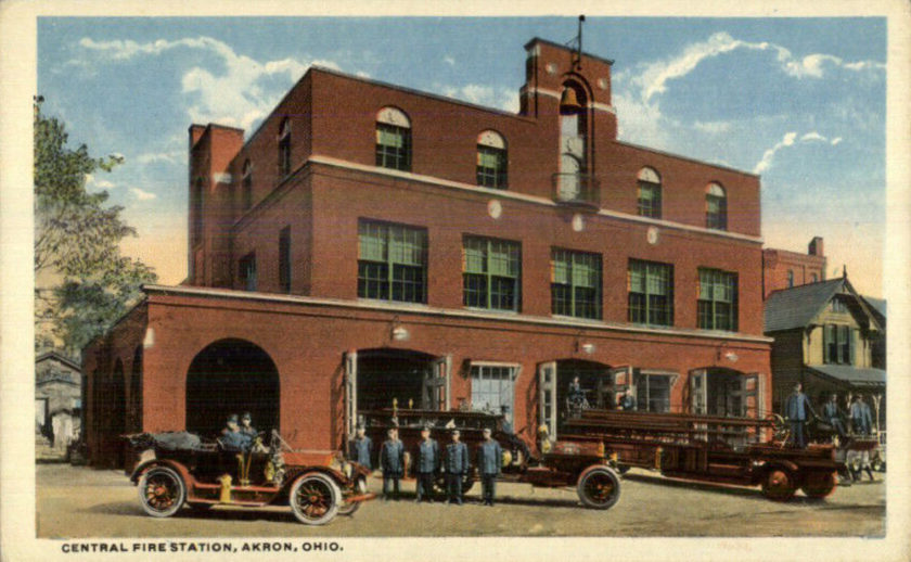 Akron Central Fire Station, Akron, Ohio