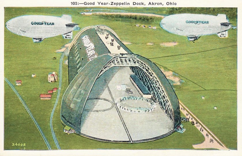 Goodyear Zeppelin Dock, Akron, Ohio