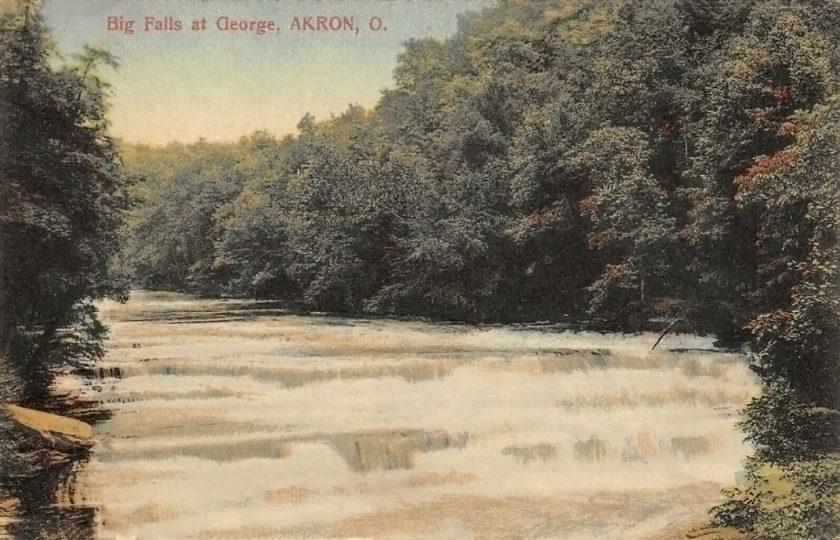 Big Falls at the Gorge