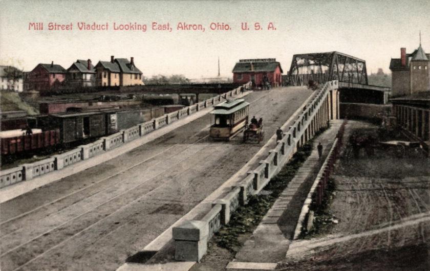 Mill Street Viaduct, Akron, Ohio