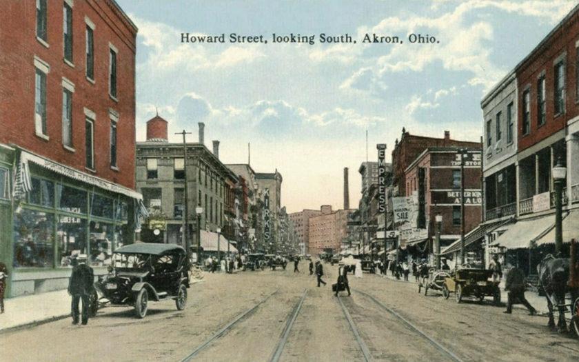 Howard Street looking South