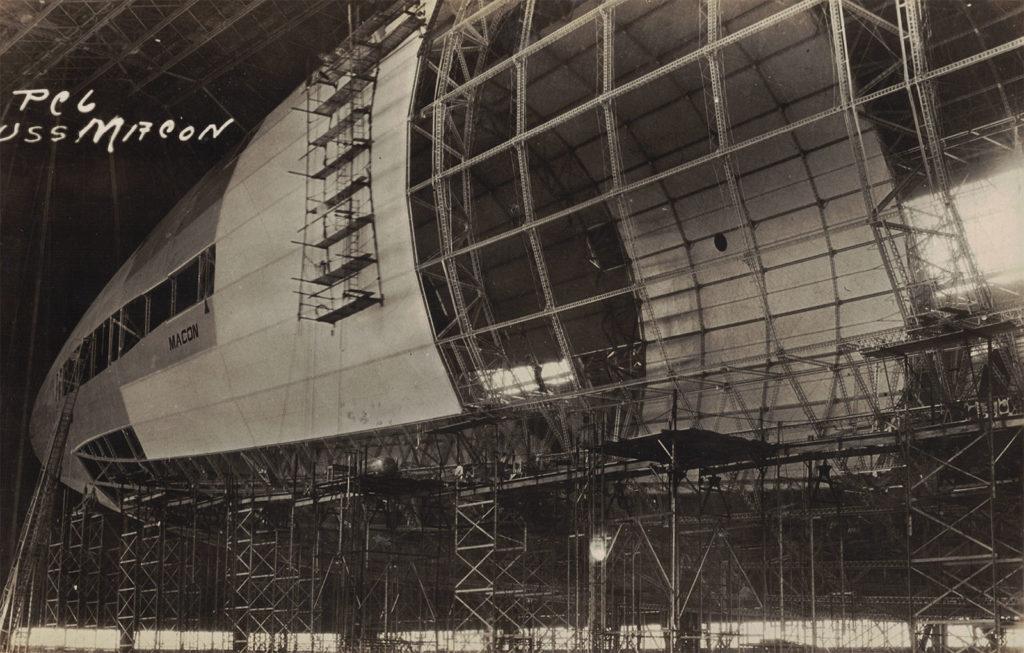 USS Macon - Under Construction, Akron, Ohio